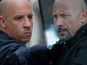 Vin Diesel và The Rock mâu thuẫn đỉnh điểm ngoài đời thực