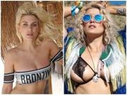 Hot girl rủ nhau diện áo tắm đại náo hồ bơi ngày cuối Coachella