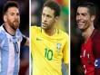 CHÍNH THỨC: Copa America mời Ronaldo đấu Messi, Neymar