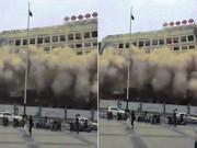 Thế giới - TQ: Tòa nhà 12 tầng bất ngờ sập khiến dân chạy tán loạn