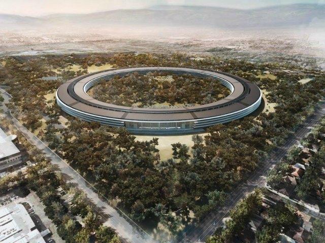 Hoa mắt trước video 4K toàn cảnh trụ sở Apple Park