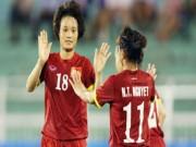 Bóng đá - Hoa khôi Ngọc Châm kể chuyện tế nhị khi đá với cầu thủ nam