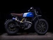 """Ngắm vẻ đẹp đầy  """" ma mị """"  của Yamaha TW200"""
