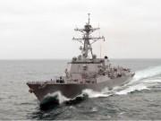 Tàu chiến Mỹ đến gần đảo TQ xây trái phép ở Biển Đông