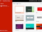 Microsoft Office Online miễn phí, phong phú tính năng