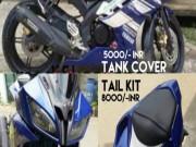 Biến Yamaha YZF-R15 thành YZF-R6 chỉ với 7 triệu đồng