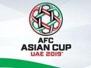 Bảng xếp hạng bóng đá vòng loại Asian Cup 2019