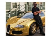Sao  ' Người nhện 2 '  biến siêu xe Bugatti thành thỏi vàng di động