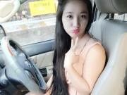 Chân dung cô vợ hot girl quản lý kiêm tài xế của quán quân Cười xuyên Việt