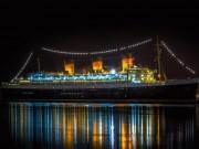 Lạnh gáy qua đêm trên con tàu ma huyền thoại ở California