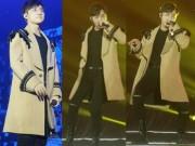 Ca nhạc - MTV - Sơn Tùng M-TP chơi trội diện áo choàng đông hát giữa mùa hè