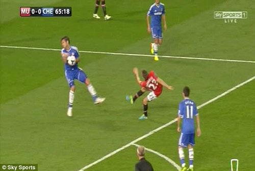 MU bị từ chối penalty - 1