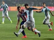 """Video bóng đá hot - Không ghi bàn, Messi vẫn là """"siêu nhân"""""""