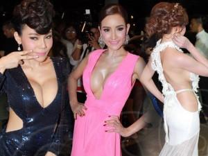 """Thời trang - Dàn sao Thái Lan mang """"thảm họa"""" váy áo lên thảm đỏ"""