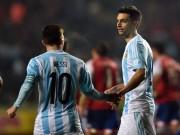 Bóng đá - Vào chung kết, Argentina tìm ra bí kíp Messi - Pastore