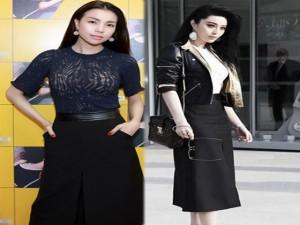 """Ca nhạc - MTV - Trà Ngọc Hằng """"đụng hàng"""" Phạm Băng Băng"""