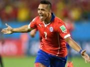 Ngôi sao bóng đá - Sanchez tỏa sáng Copa, Arsenal mơ ngai vàng NHA