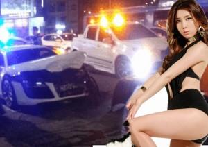 Sao ngoại-sao nội - Ngủ gật khi lái xe, nữ ca sỹ Hàn gây tai nạn nghiêm trọng