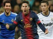 Tin bên lề bóng đá - Định giá: Messi thống trị, Hazard vượt mặt CR7