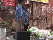 Video An ninh - Camera giấu kín: Khi bị nhắc nhở không xả rác bừa bãi