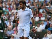 Tennis - Wimbledon ngày 5: Wawrinka đi tiếp, Dimitrov bị loại