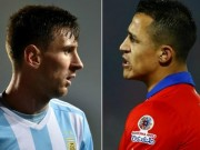 """Ngôi sao bóng đá - Chung kết Copa: Chơi điện tử Play Station để """"trị"""" Messi"""