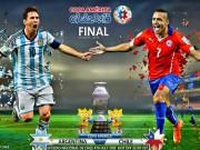 Các giải bóng đá khác - Chile – Argentina: Khao khát tột cùng