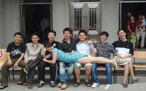 """Bạn trẻ - Cuộc sống - Giới trẻ TQ rộ trào lưu khoe chân dài """"quái dị"""""""
