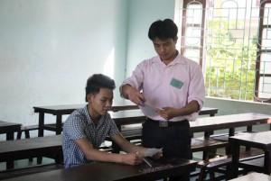 Giáo dục - du học - Nghệ An: 60 cán bộ, nhân viên phục vụ 1 thí sinh thi môn Sử