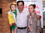 Phim - Diễn viên Thương Tín lần đầu khoe vợ trẻ và con gái nhỏ