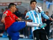 Các giải bóng đá khác - Messi nhận cú taekwondo của cầu thủ Chile