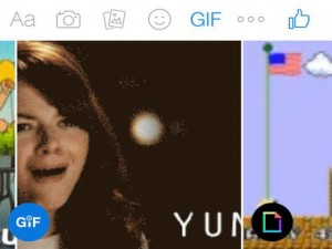 Sản phẩm mới - Gửi ảnh động trực tiếp từ Facebook Messenger