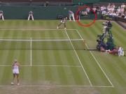 """Tennis 24/7: Serena  """" đả thương """"  trọng tài ở Wimbledon"""