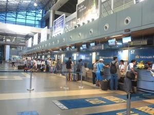 Tin tức Việt Nam - Hiển thị số ghế còn trống ngay tại sân bay