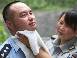 Thế giới - TQ: Cảnh sát mù canh giữ trật tự cho cả thị trấn