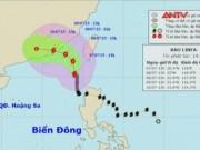 Video An ninh - Thông tin mới nhất về cơn bão số 2