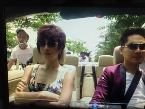 Clip toàn cảnh Kim Tuyến bị cướp khi đang đóng phim