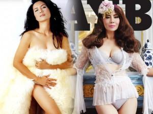 Thời trang - Mẫu nude 54 tuổi lên bìa tạp chí Playboy Thái Lan