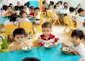 Giáo dục - du học - Hà Nội: Từ 15.7, các trường mầm non tuyển sinh năm học mới