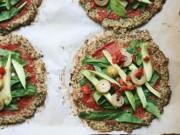 Ẩm thực - Tuyệt chiêu làm pizza từ súp lơ khiến các bé thích mê!