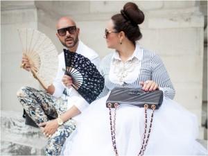 Thời trang bốn mùa - Ngắm tín đồ Paris mặc đẹp giữa cái nóng 40 độ