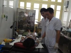 18 y, bác sĩ Bệnh viện Phụ sản HN có bị phơi nhiễm HIV?