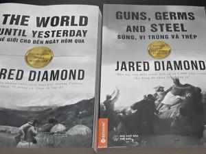 Bạn trẻ - Cuộc sống - Tái bản và ra mắt sách 3 cuốn sách của Jared Diamond