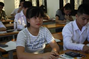 Giáo dục - du học - Chấm thi THPT Quốc gia 2015: Môn Toán đã có thí sinh đạt 10 điểm