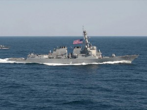 """Tin tức trong ngày - Tuần tra Biển Đông, tàu Mỹ liên tục bị TQ """"hoạnh họe"""""""