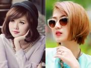 8X + 9X - Hot girl Việt cực dễ thương với tóc ngắn