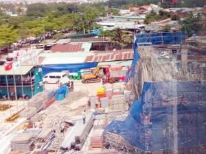 Tin tức trong ngày - Hiện trường đổ nát vụ sập giàn giáo công trình 17 tầng ở TP.HCM