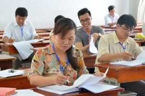 Giáo dục - du học - 14 giáo viên buộc phải dừng chấm thi THPT Quốc Gia