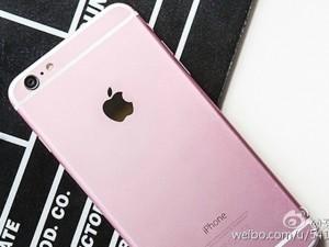 Điện thoại - Sẽ xuất hiện siêu phẩm iPhone 6S màu hồng?