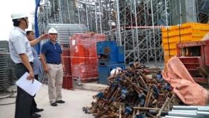 Tin tức trong ngày - Sập giàn giáo làm 3 người chết: Thứ trưởng Bộ Xây dựng kiểm tra công trình
